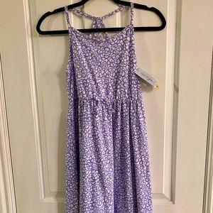 Girls Cat and Jack floral print dress NEW W/TAGS